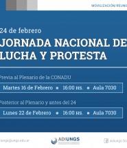 movilizacion y protesta 24-01