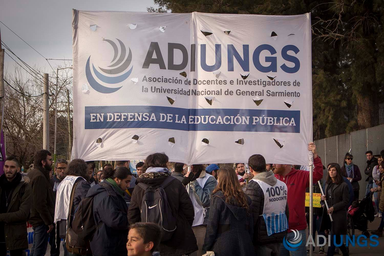 ADIUNGS - marcha a San Miguel