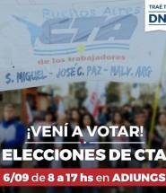 Elecciones CTA