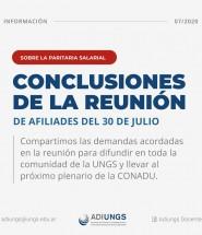 Conclusiones de la reunion 30-07-20