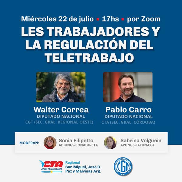 charla-ley-de-teletrabajo-Walter-Correa-Pablo-Carro
