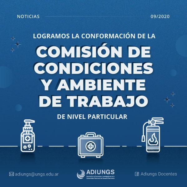 Comisión de condiciones y ambiente de trabajo