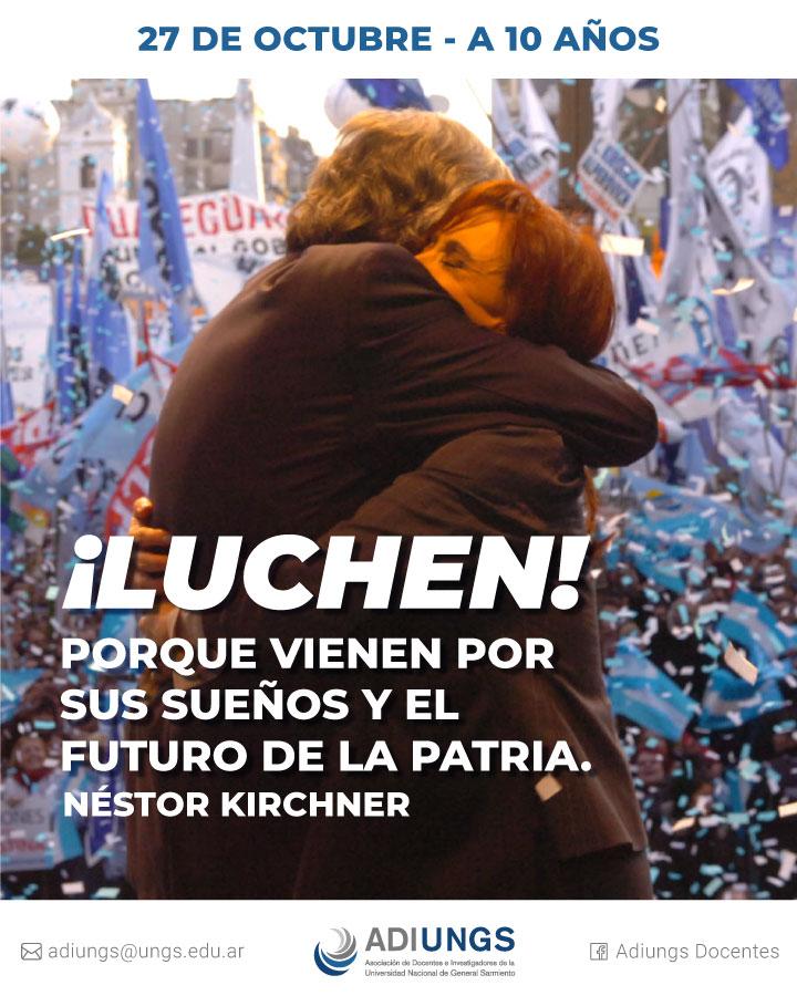 Néstor Kirchner - 10-años