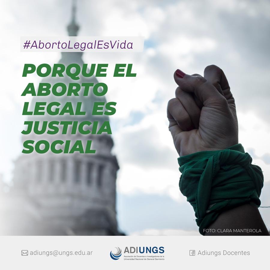 Porque el aborto legal es justicia social
