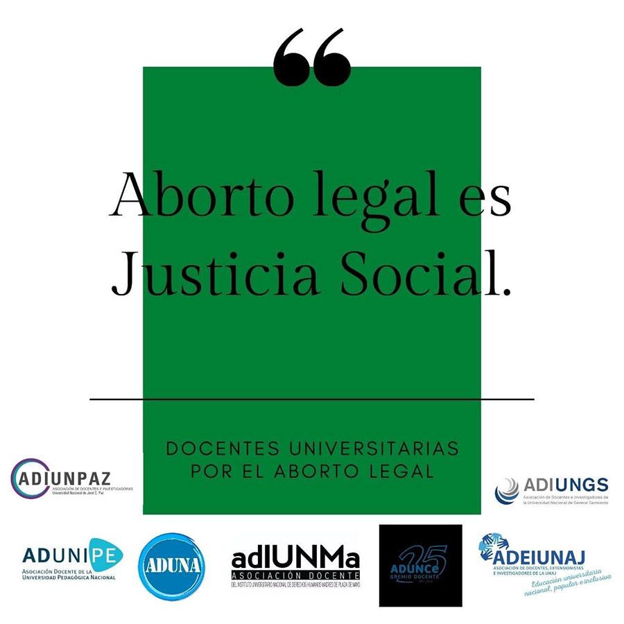 Aborto Legal es justicia social
