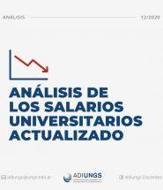 Analisis de los salarios universitarios